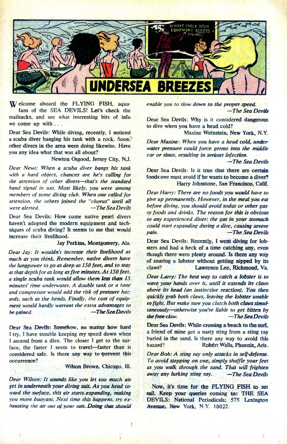 Read online Sea Devils comic -  Issue #32 - 24