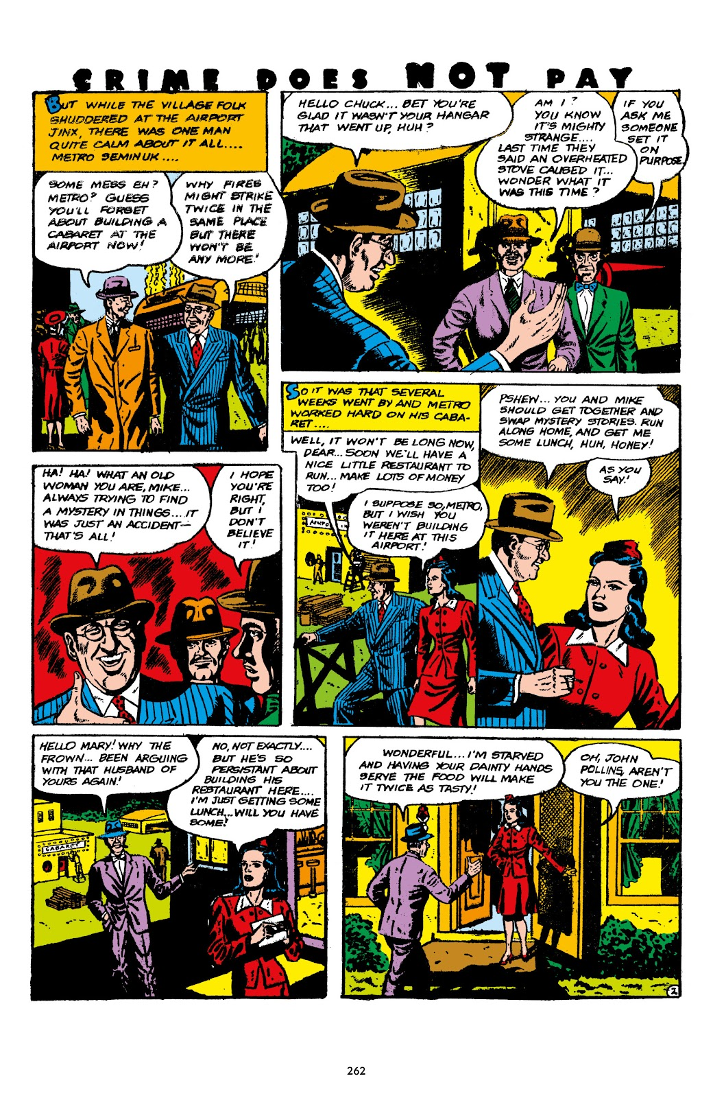 Read online Crime Does Not Pay Archives comic -  Issue # TPB 7 (Part 3) - 63