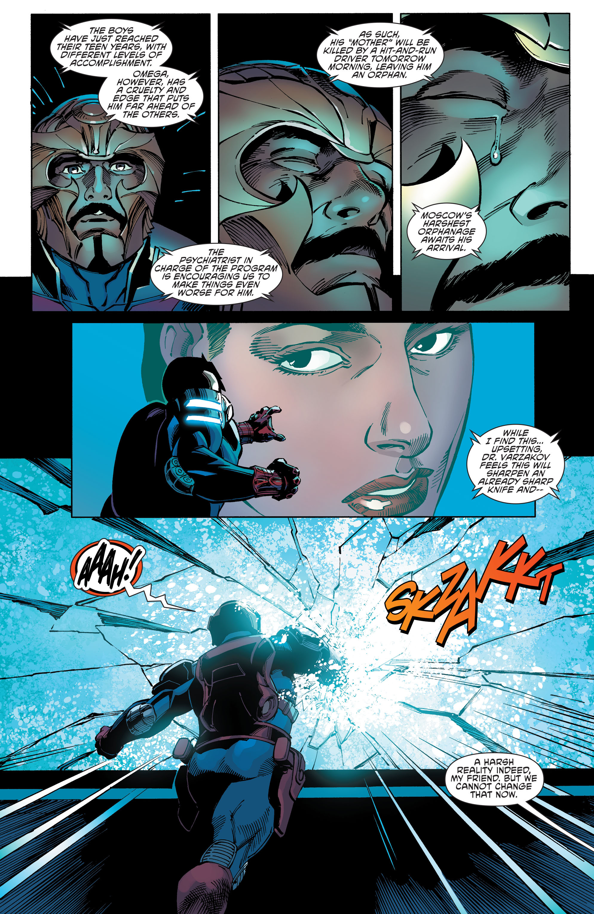 Read online Aquaman and the Others comic -  Issue #9 - 15