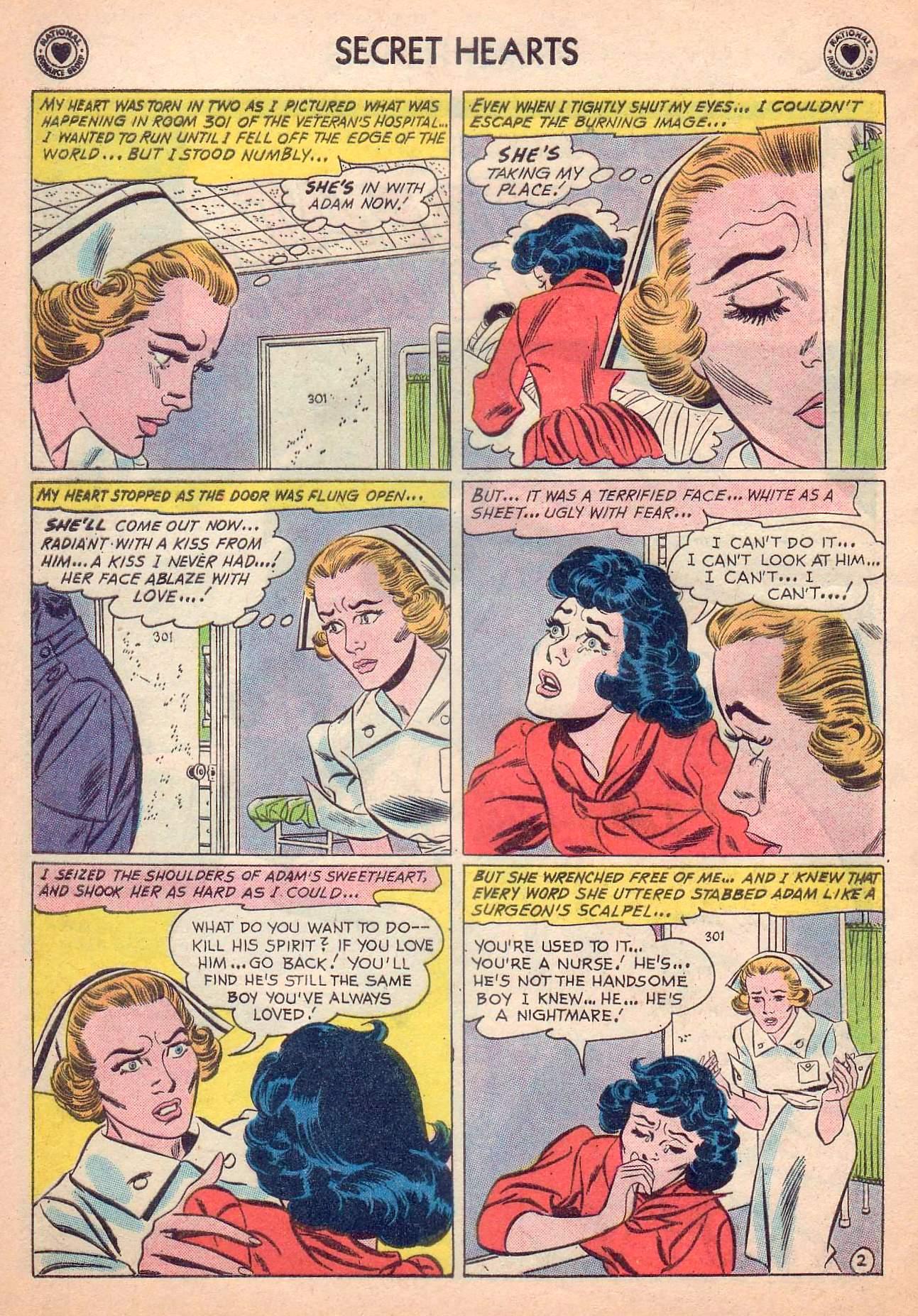 Read online Secret Hearts comic -  Issue #63 - 28