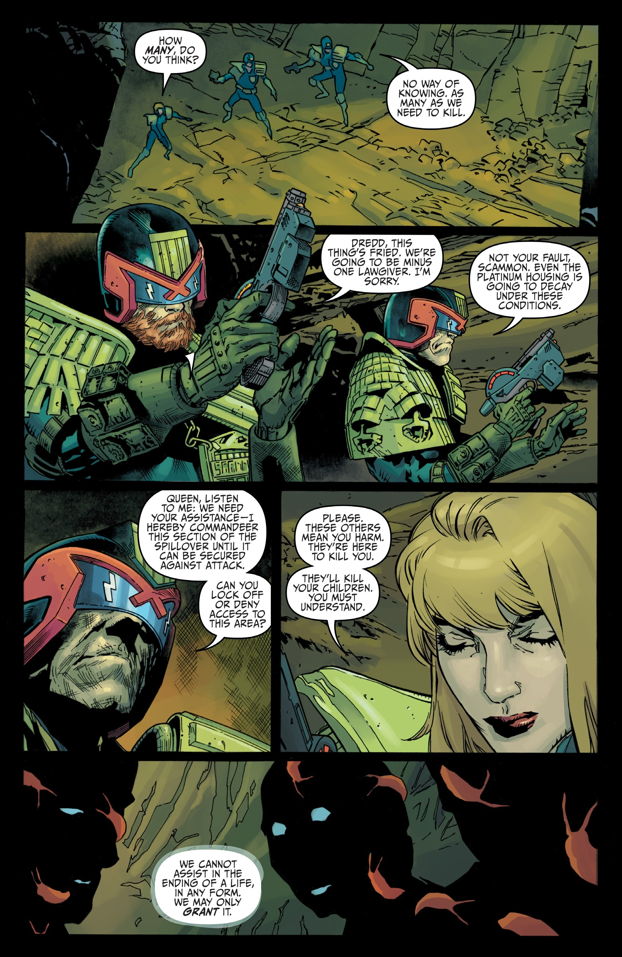Judge Dredd: Toxic #4 #4 - English 10