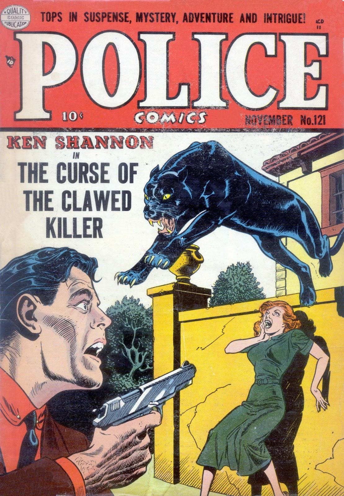 Police Comics 121 Page 1