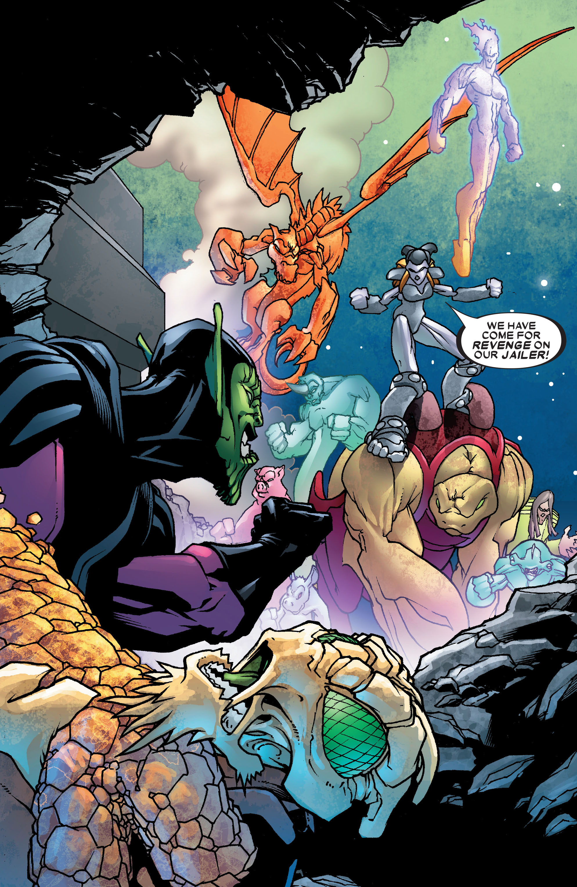 Read online Annihilation: Super-Skrull comic -  Issue #2 - 20