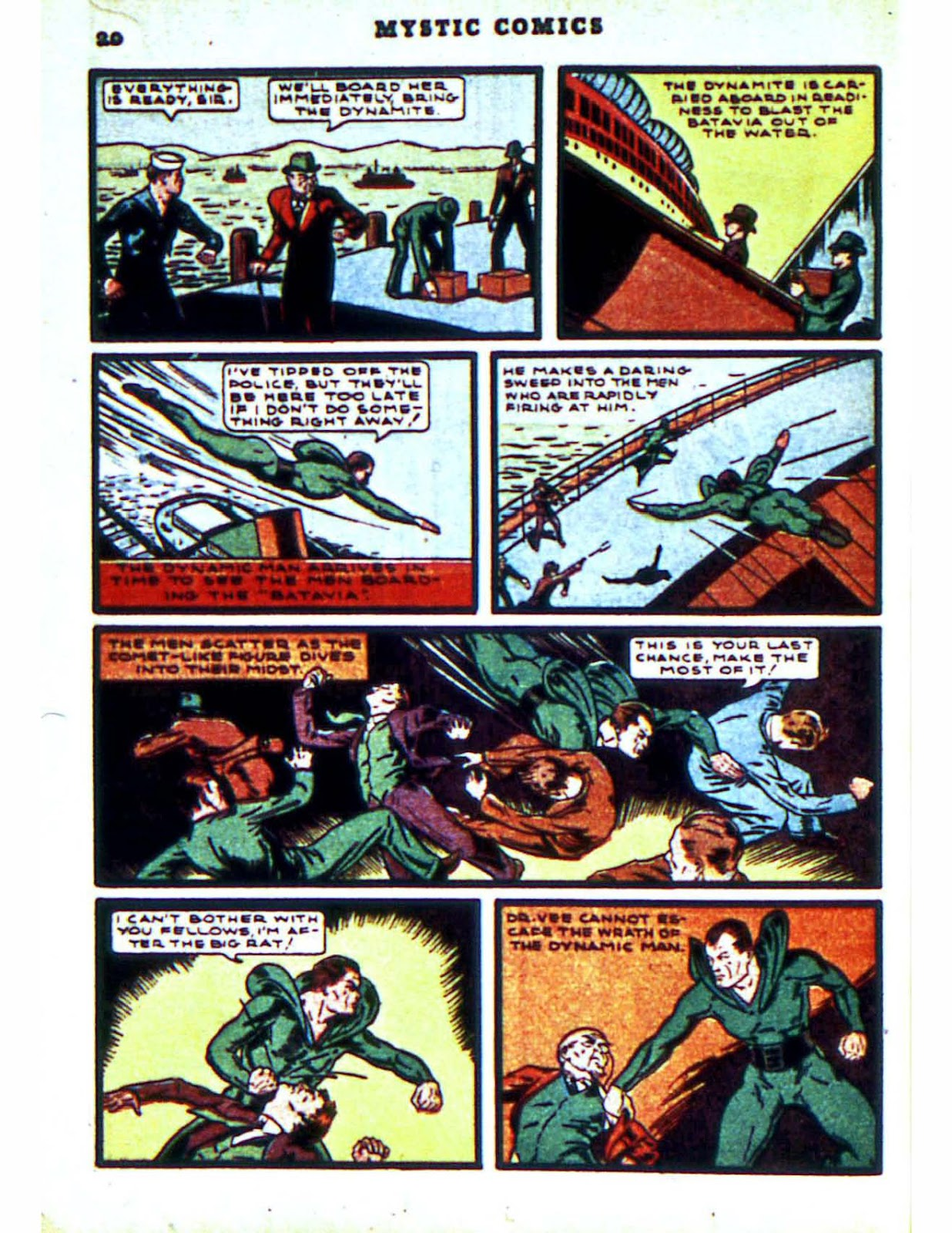 Mystic Comics (1940) issue 2 - Page 22