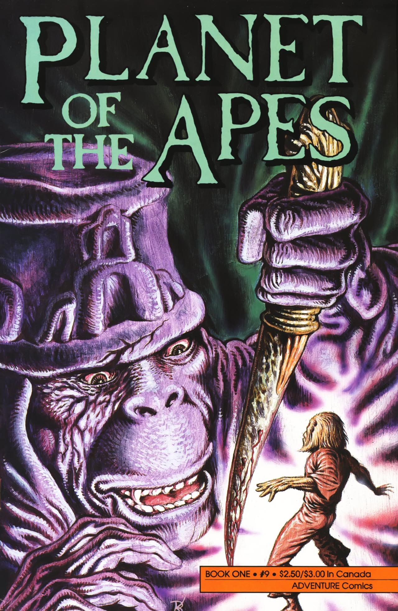 Planet of the Apes (1990) 9 Page 1