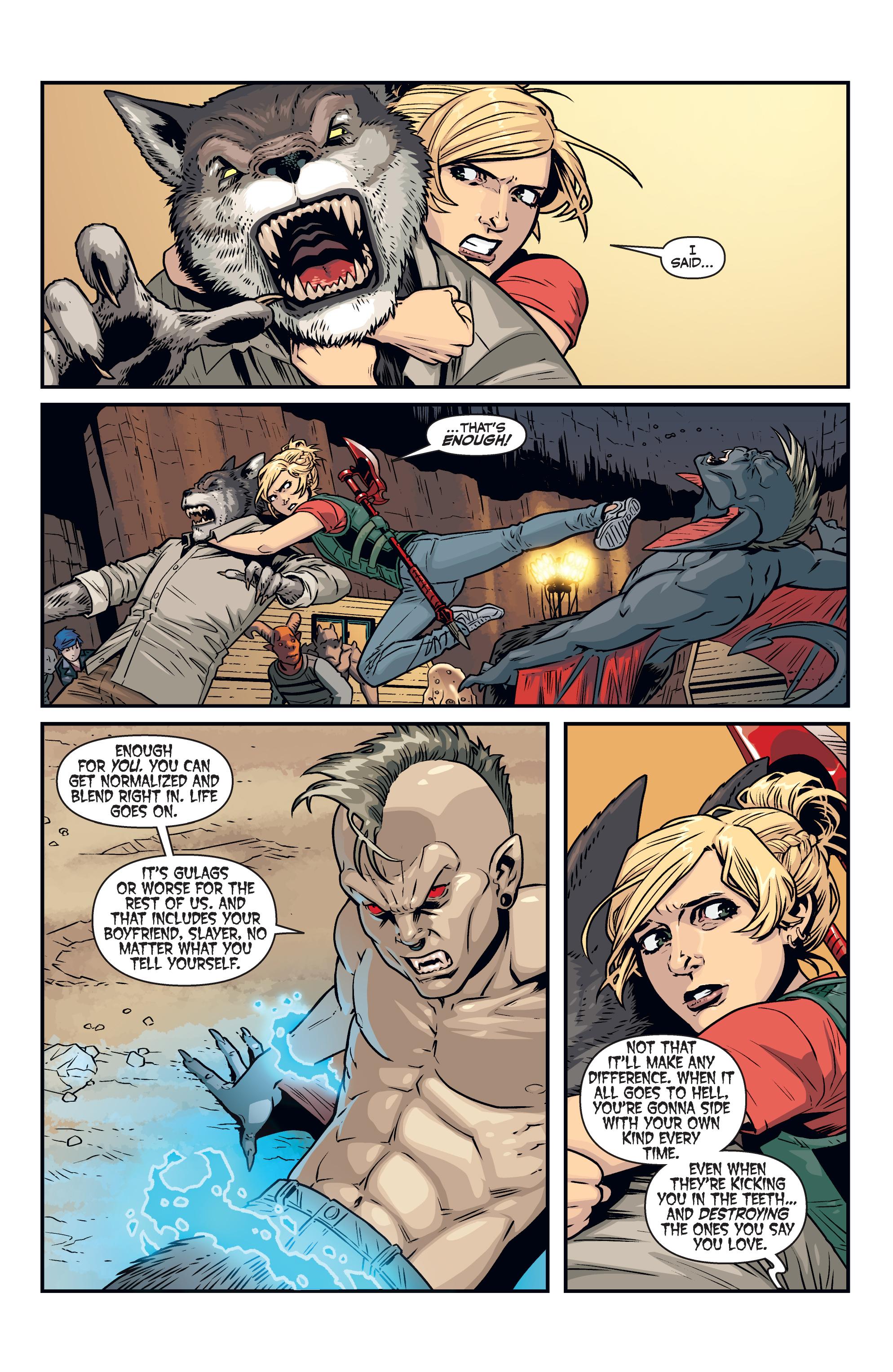 Read online Buffy the Vampire Slayer Season 11 comic -  Issue #7 - 16