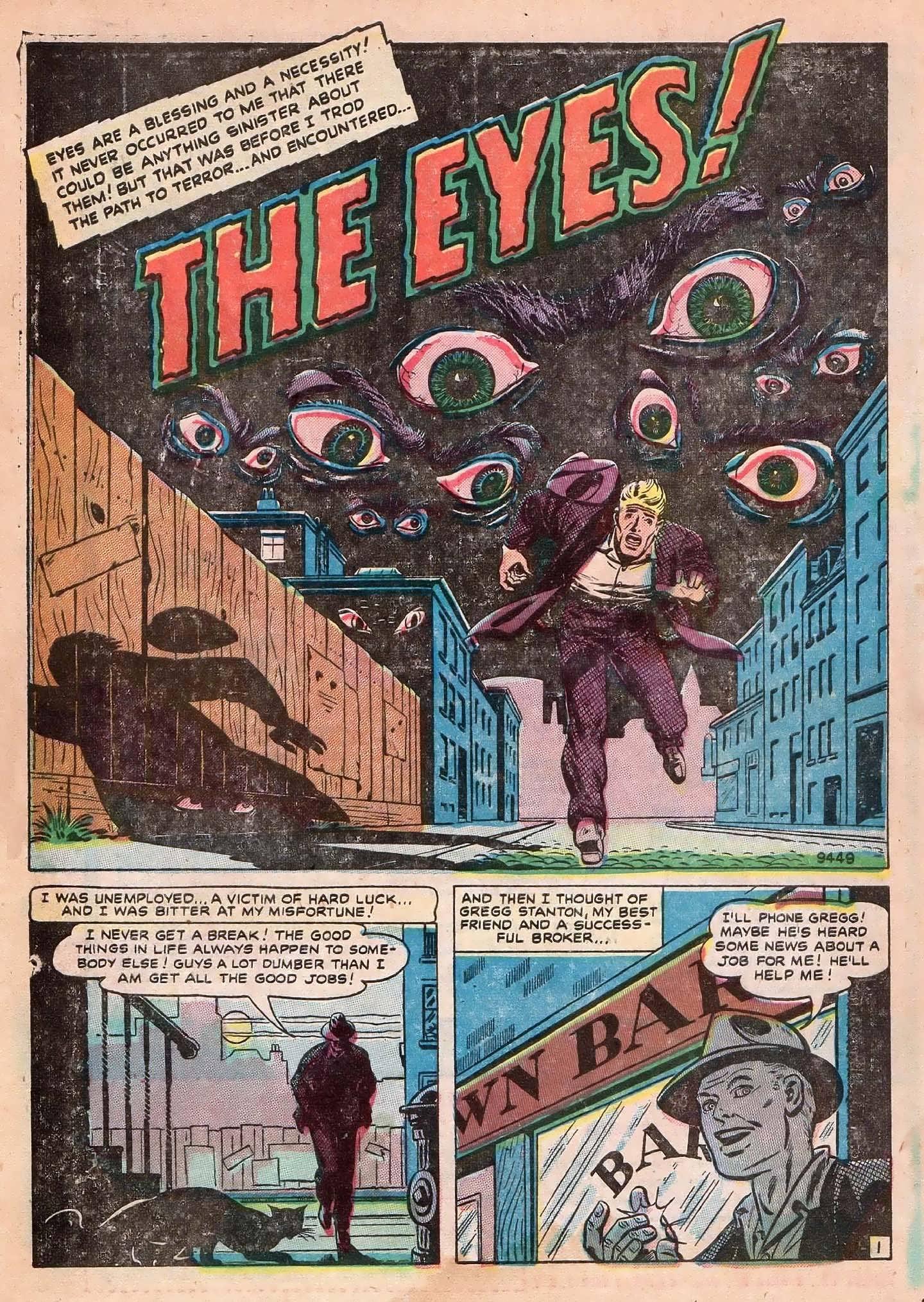 Read online Adventures into Weird Worlds comic -  Issue #2 - 10