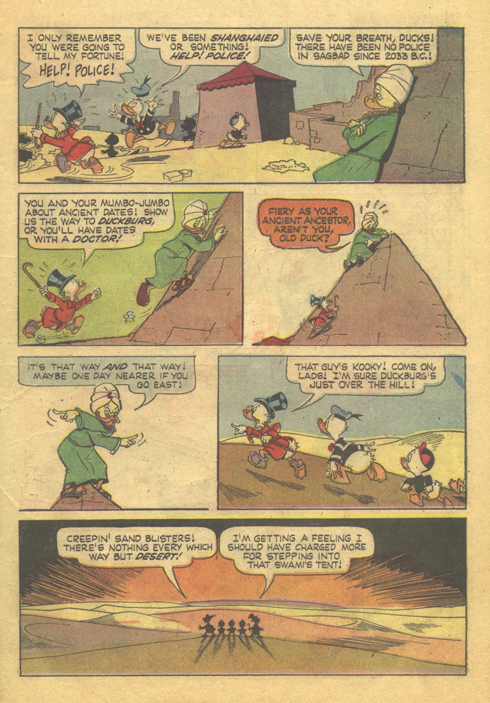 Read online Uncle Scrooge (1953) comic -  Issue #71 - 7
