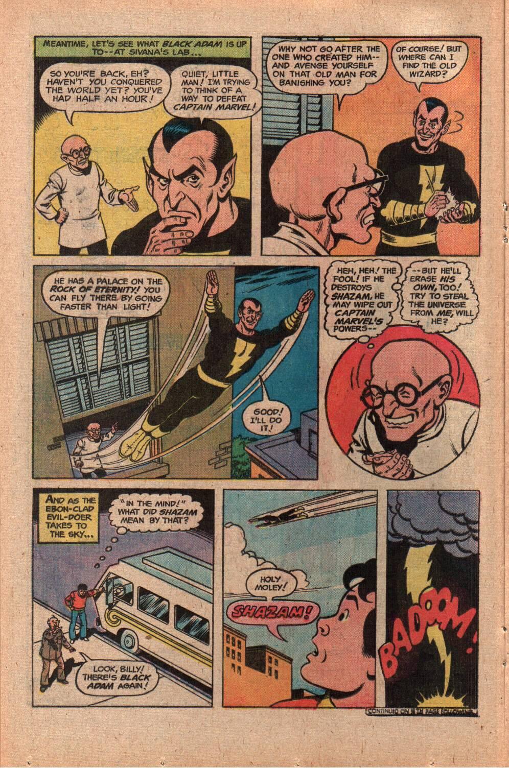 Read online Shazam! (1973) comic -  Issue #28 - 16