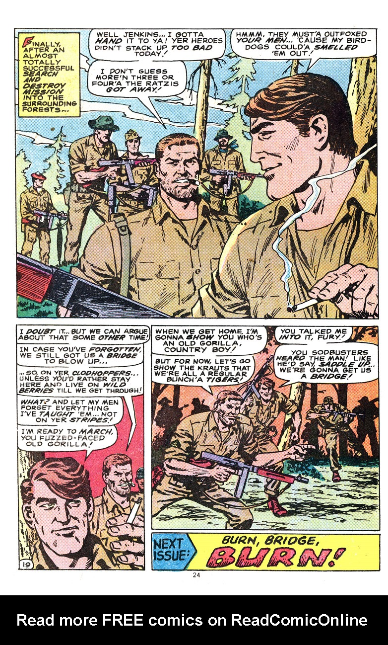 Read online Sgt. Fury comic -  Issue #164 - 26