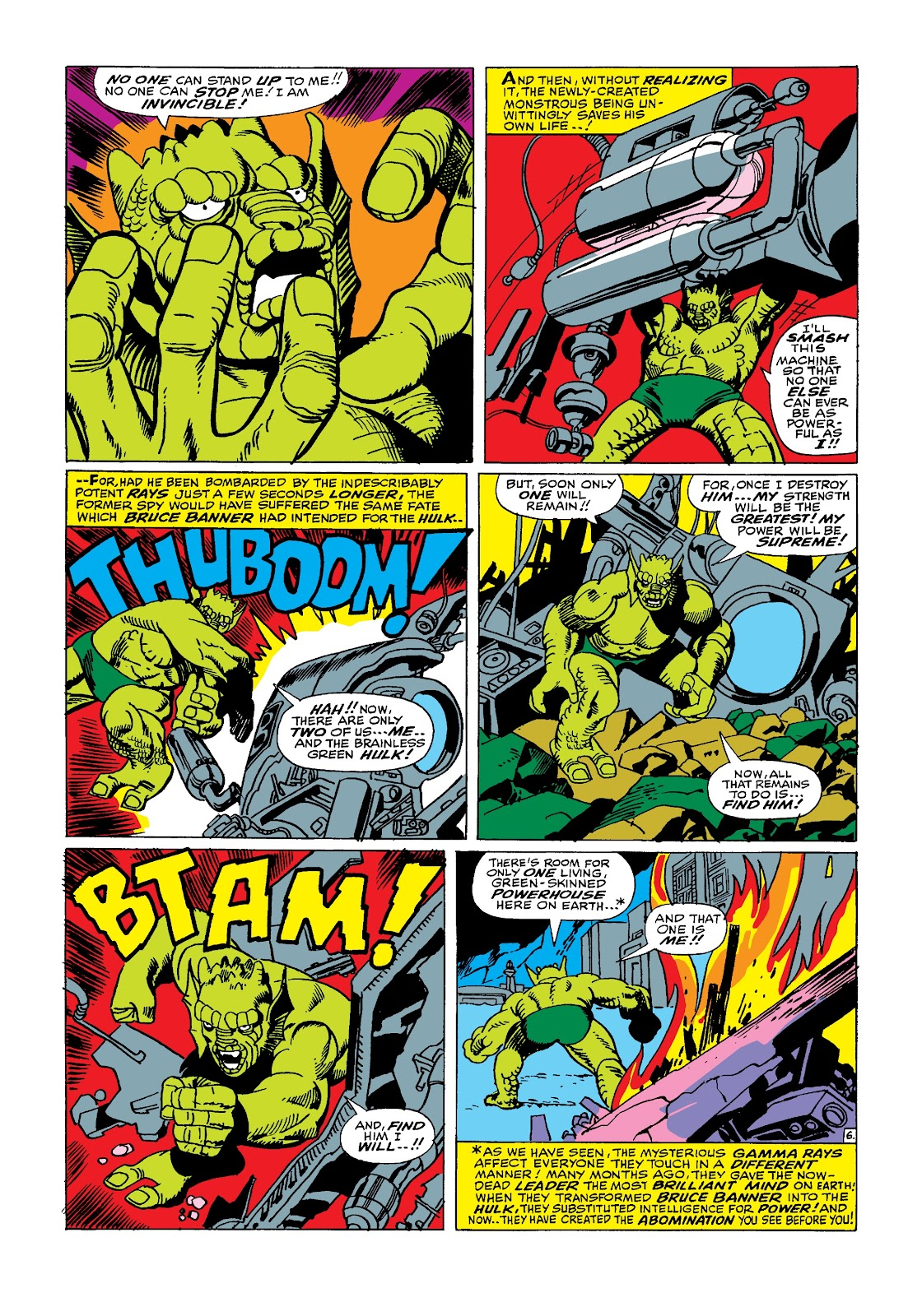 Read online Marvel Masterworks: The Incredible Hulk comic -  Issue # TPB 3 (Part 2) - 23