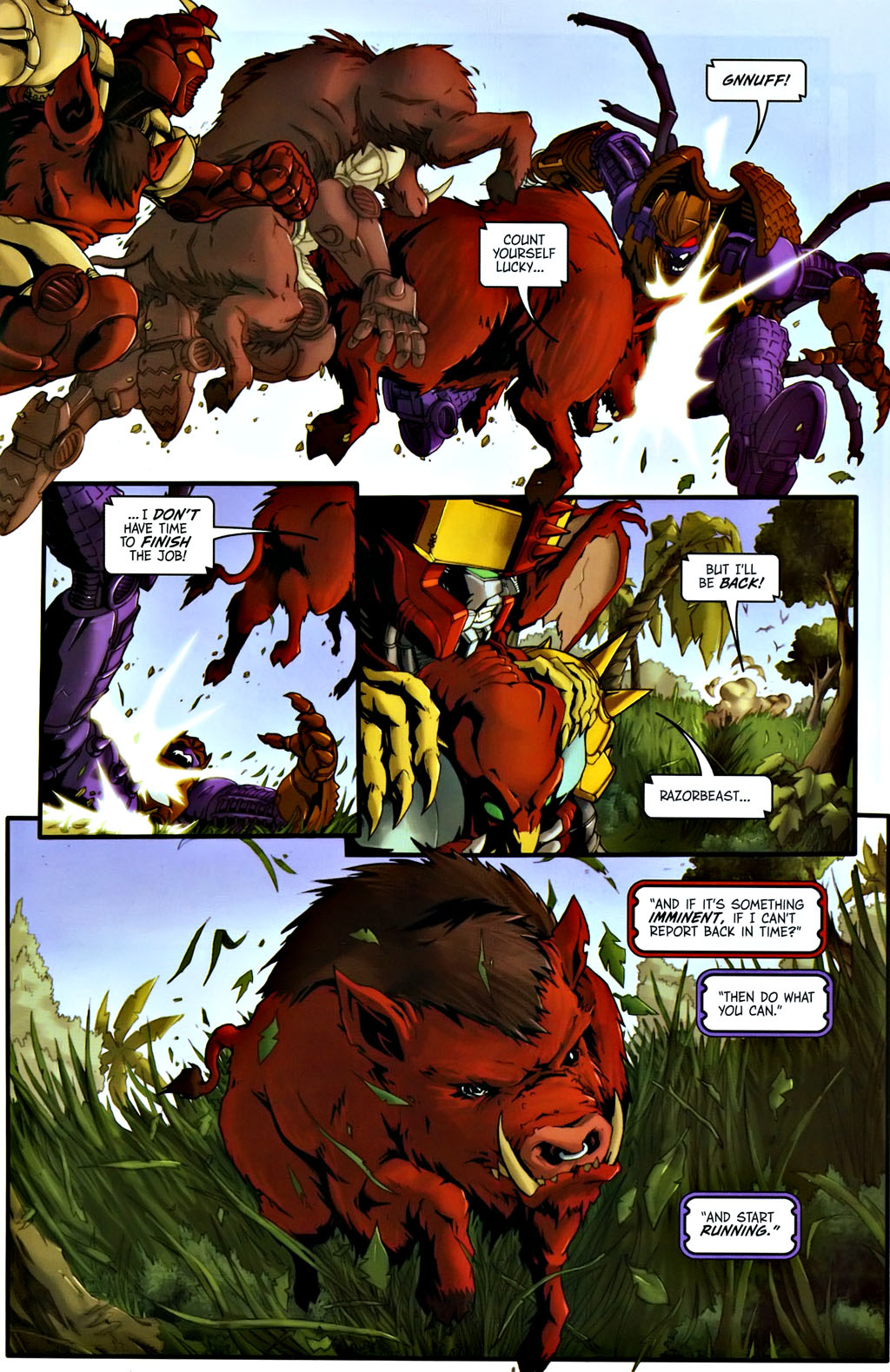 Read online Transformers, Beast Wars: The Gathering comic -  Issue #1 - 18