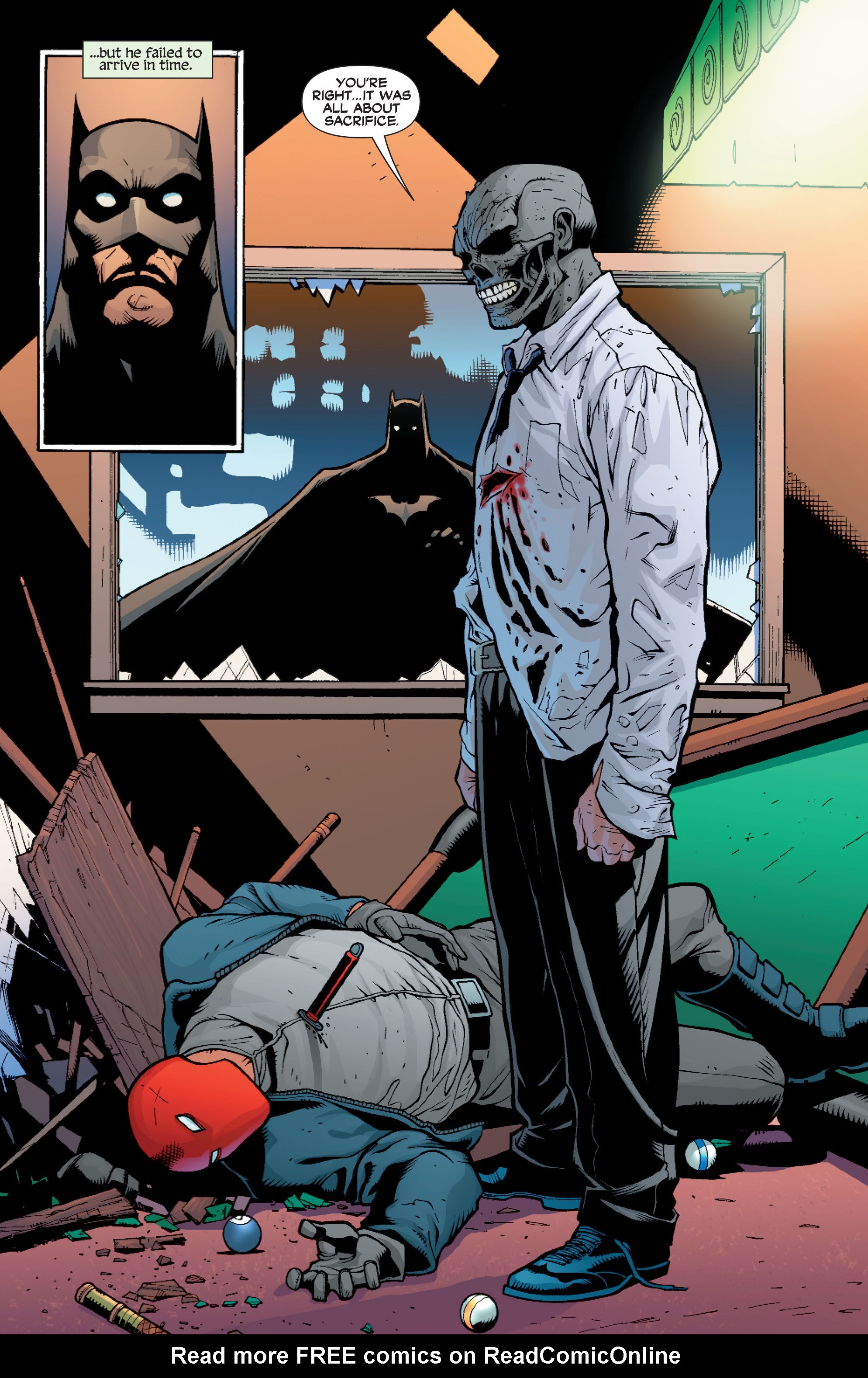 Read online Batman: Under The Red Hood comic -  Issue # Full - 268