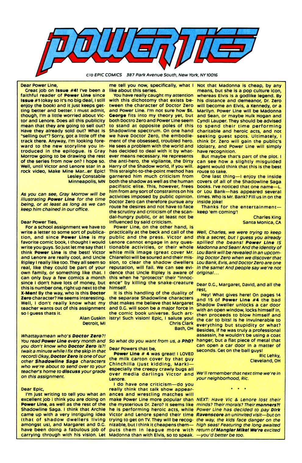 Read online Powerline comic -  Issue #6 - 31