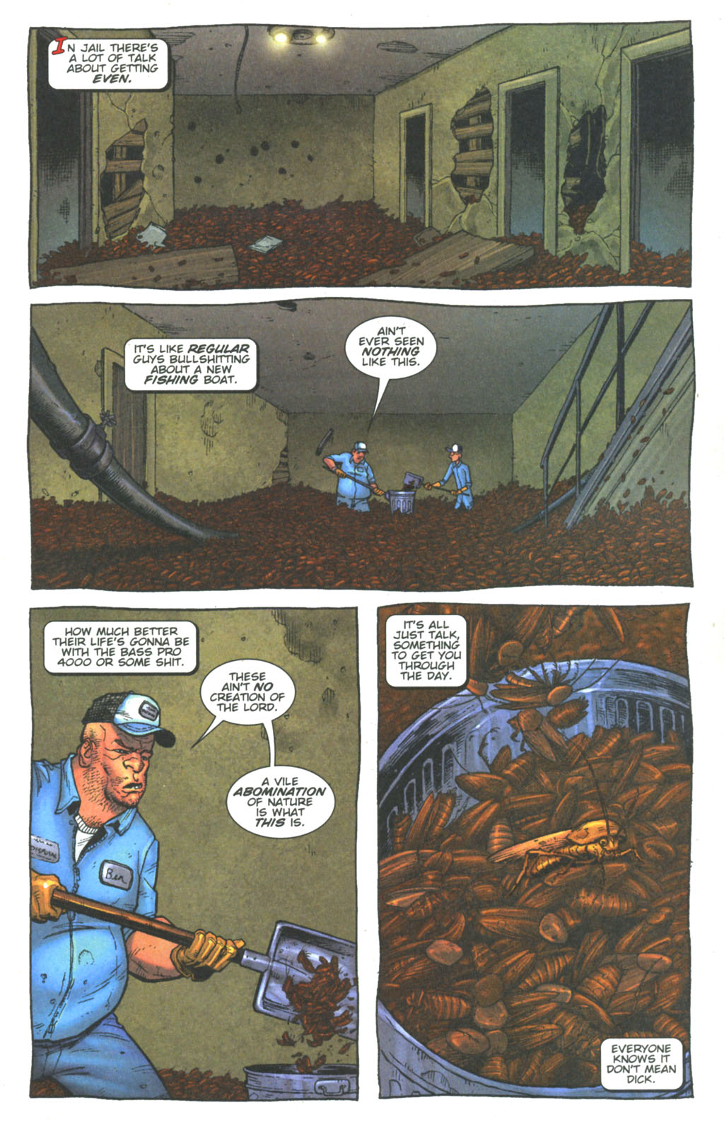 Read online The Exterminators comic -  Issue #6 - 4