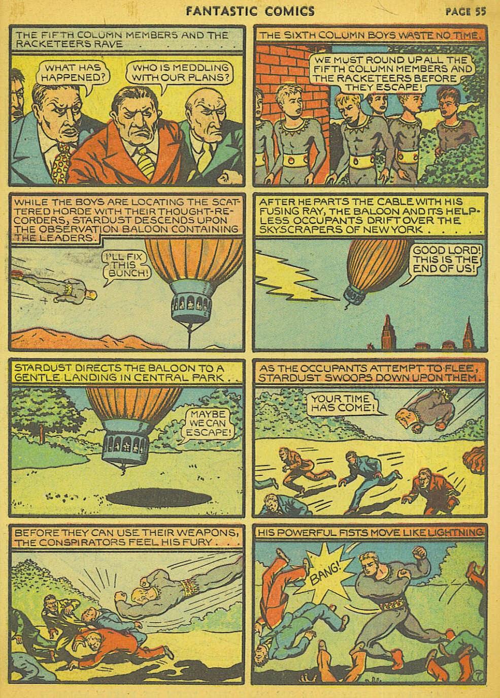 Read online Fantastic Comics comic -  Issue #15 - 50