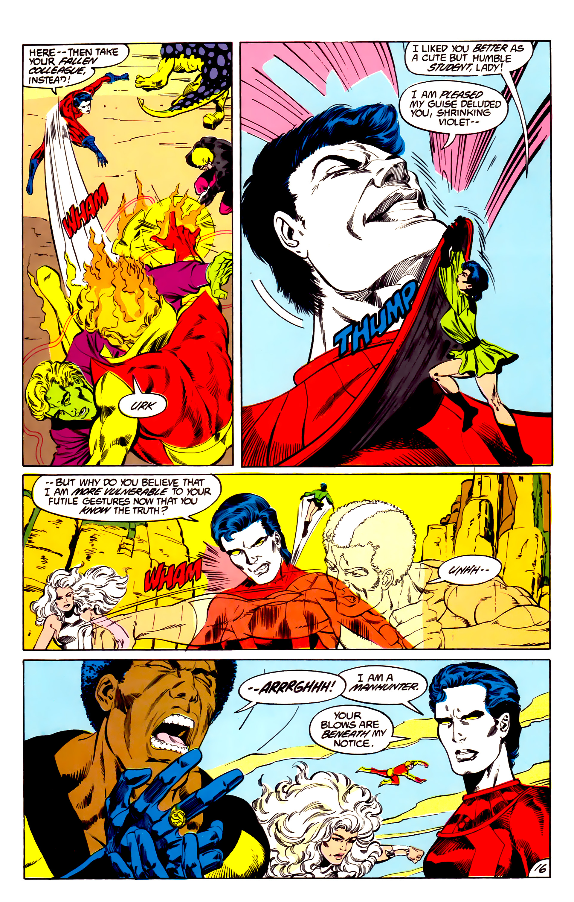 Legion of Super-Heroes (1984) 43 Page 16