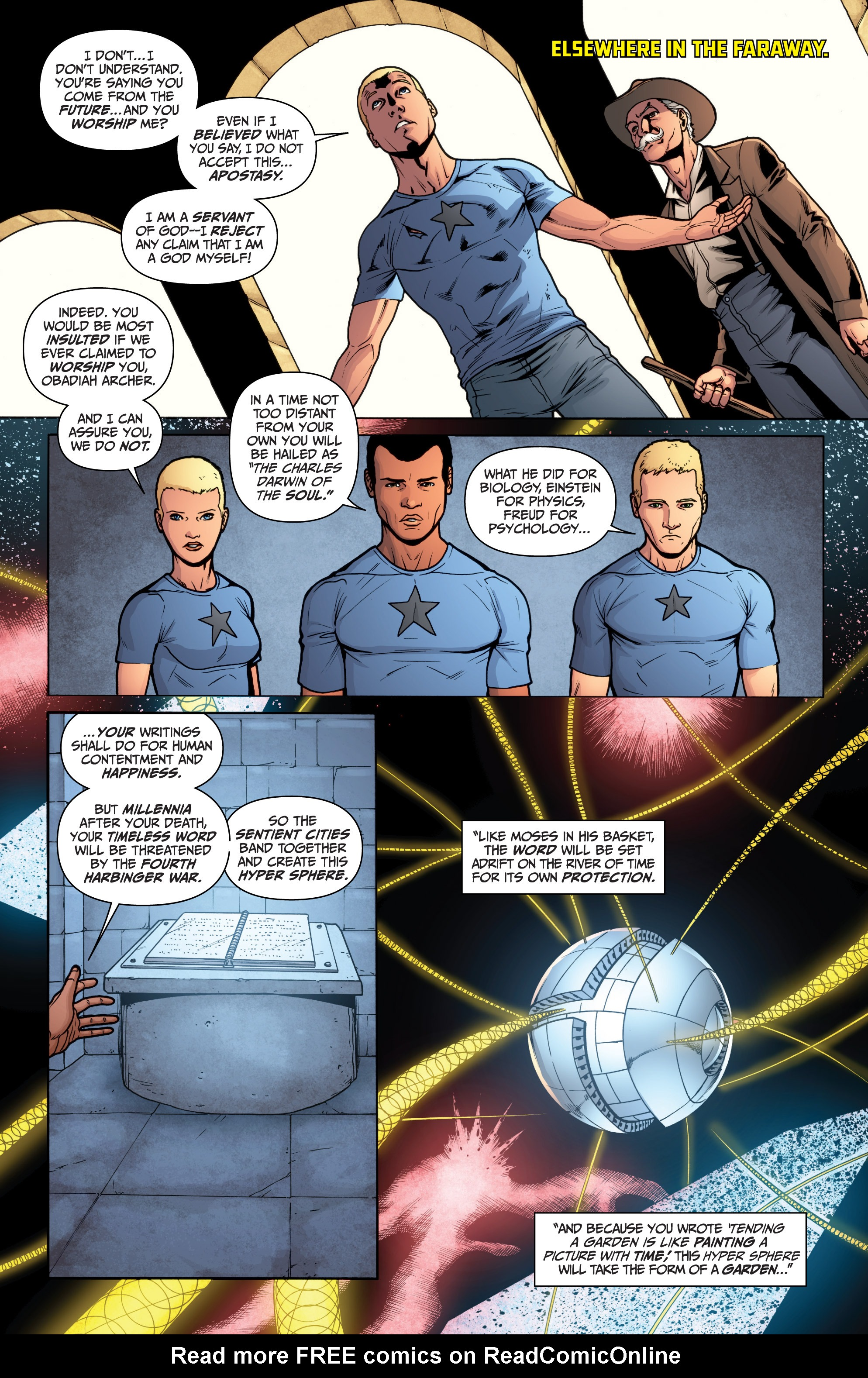 Read online Archer and Armstrong comic -  Issue #Archer and Armstrong _TPB 3 - 80