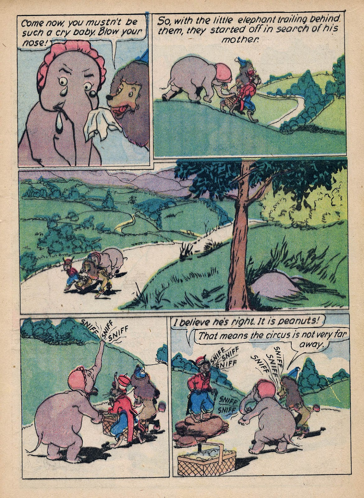 Read online Animal Comics comic -  Issue #7 - 9