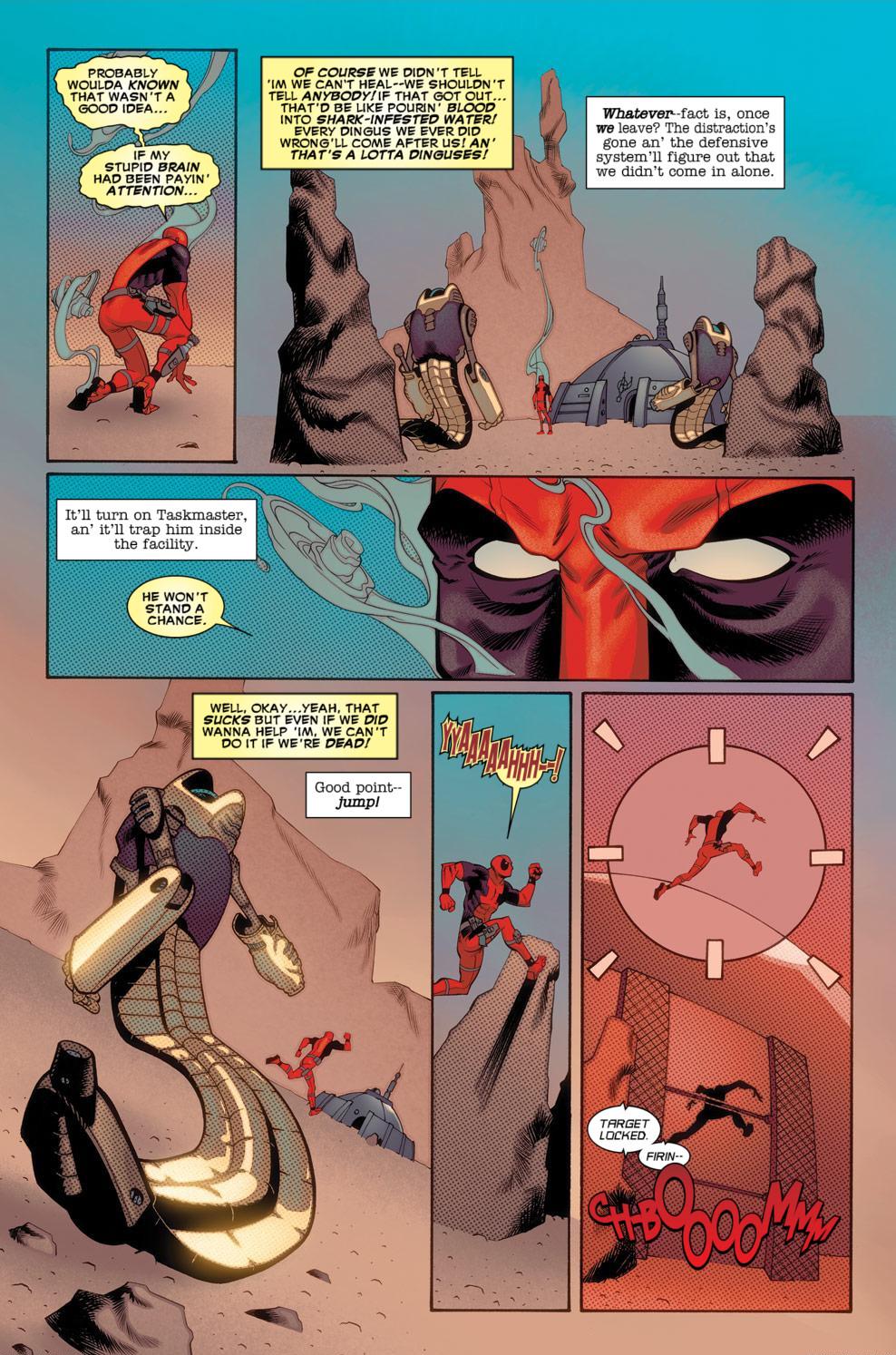 Read online Deadpool (2008) comic -  Issue #56 - 20