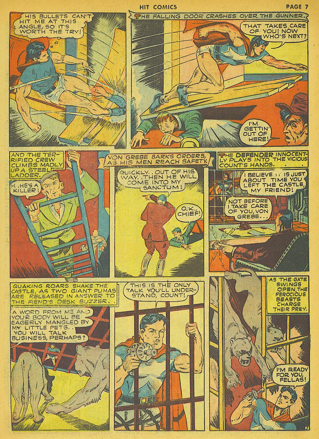 Read online Hit Comics comic -  Issue #21 - 9