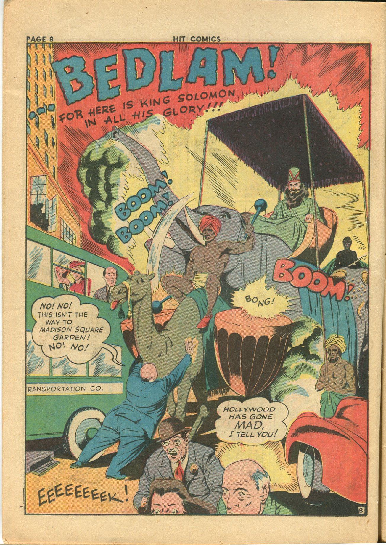 Read online Hit Comics comic -  Issue #28 - 11