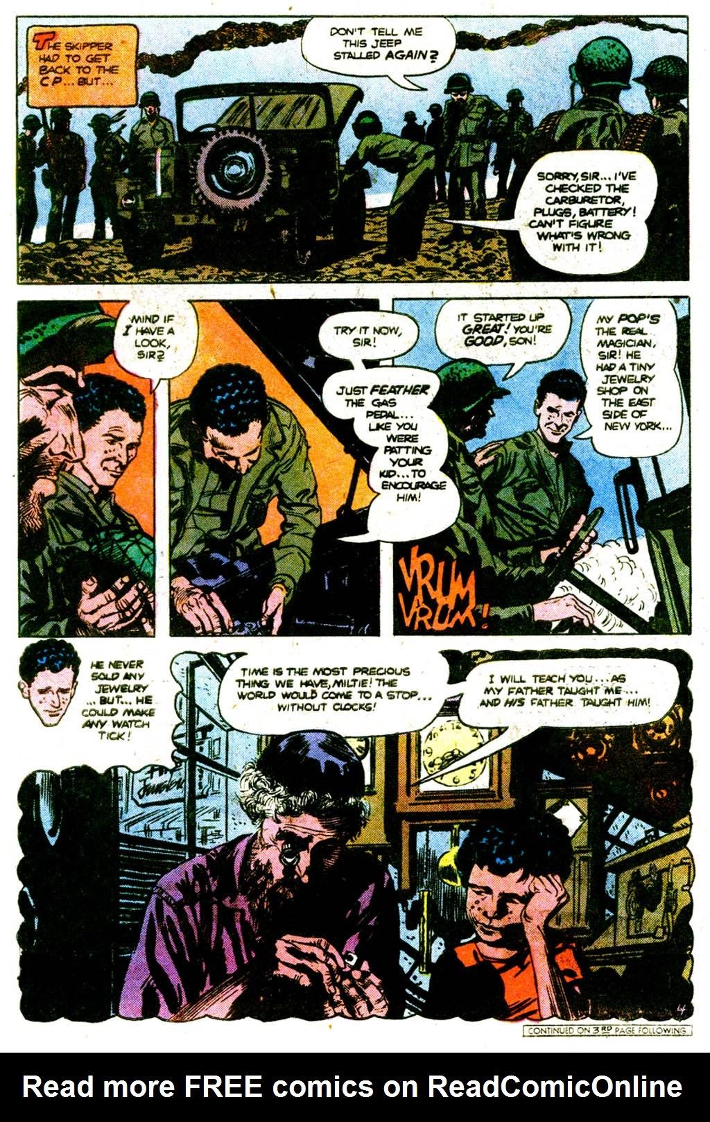 Read online Sgt. Rock comic -  Issue #313 - 5