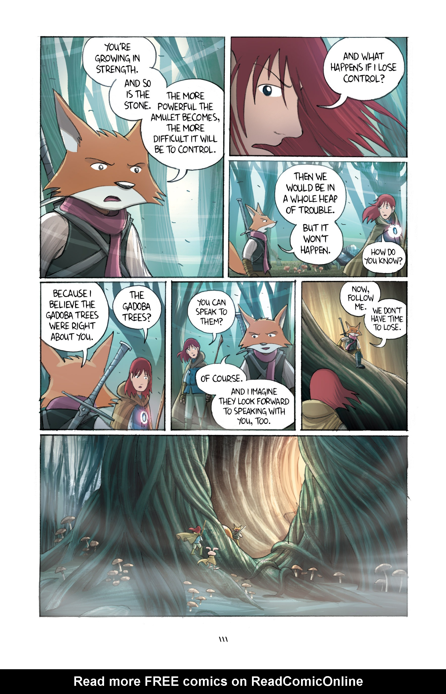Read online Amulet comic -  Issue #2 - 111