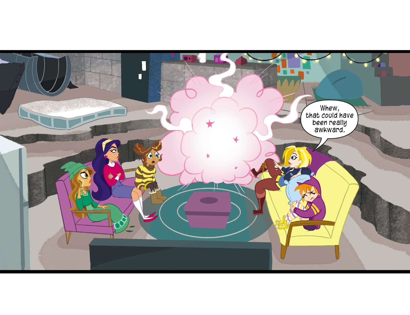 Read online DC Super Hero Girls: Weird Science comic -  Issue #12 - 11