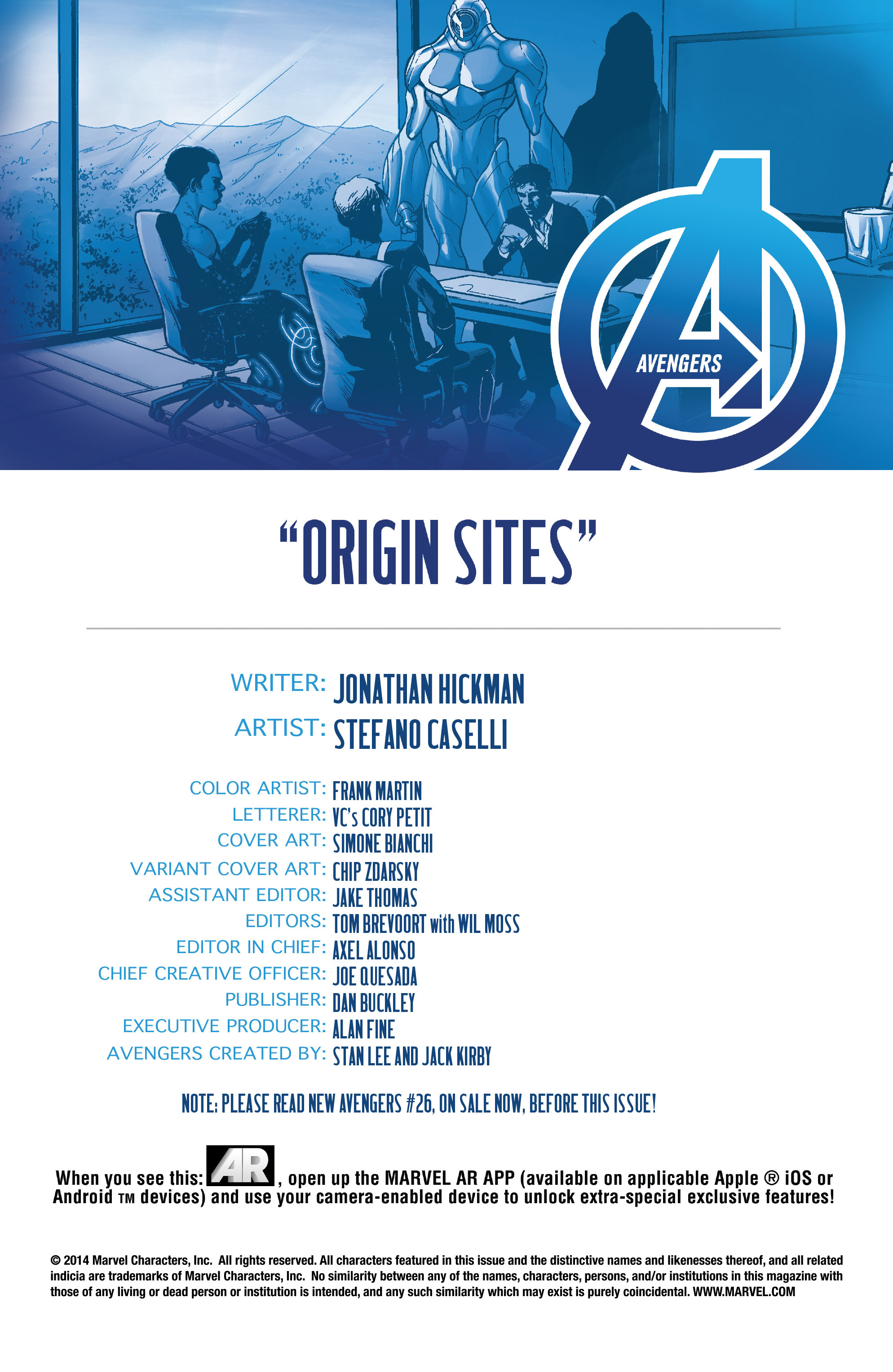 Read online Avengers (2013) comic -  Issue #38 - 4