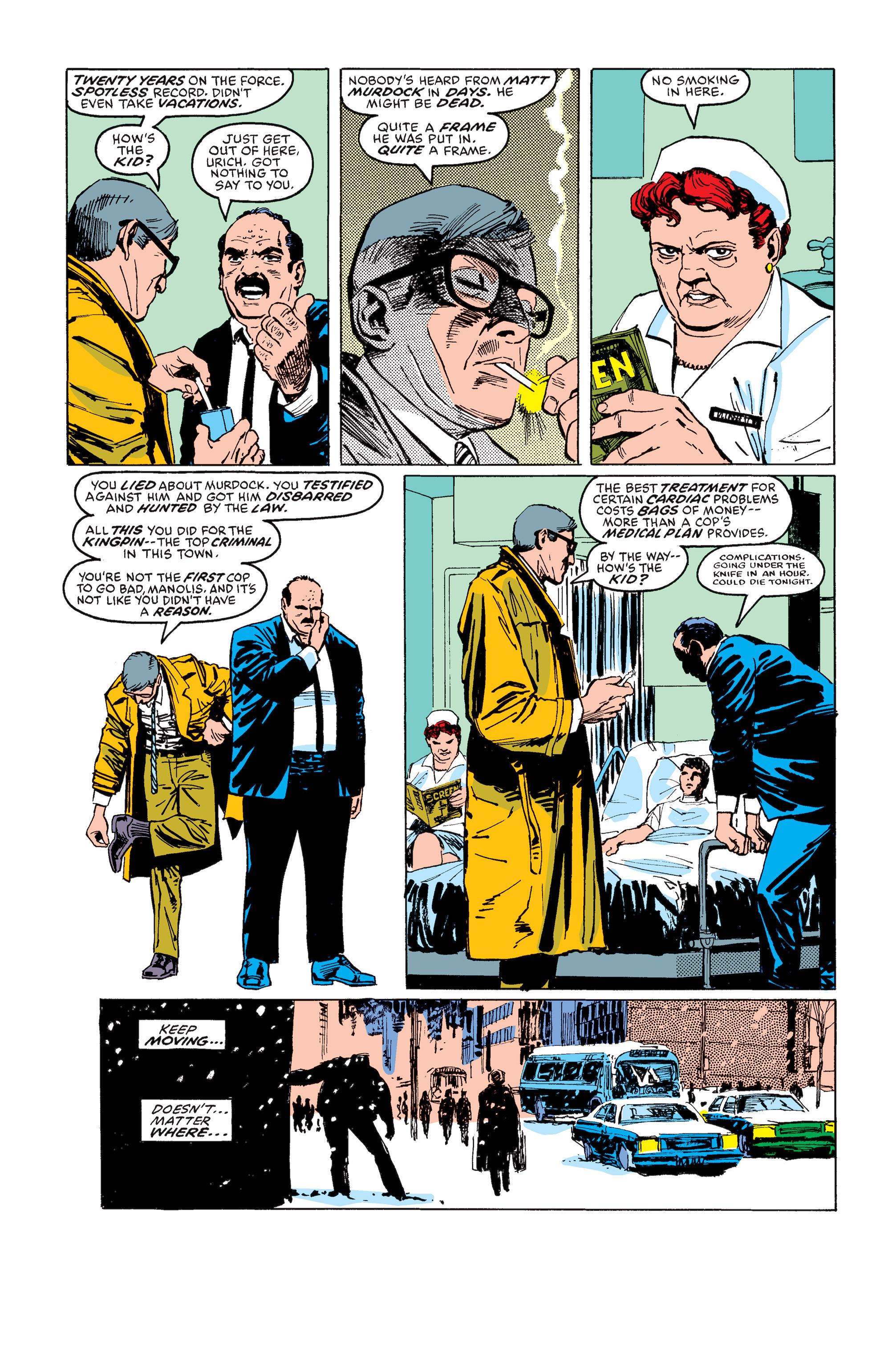 Read online Daredevil: Born Again comic -  Issue # Full - 86