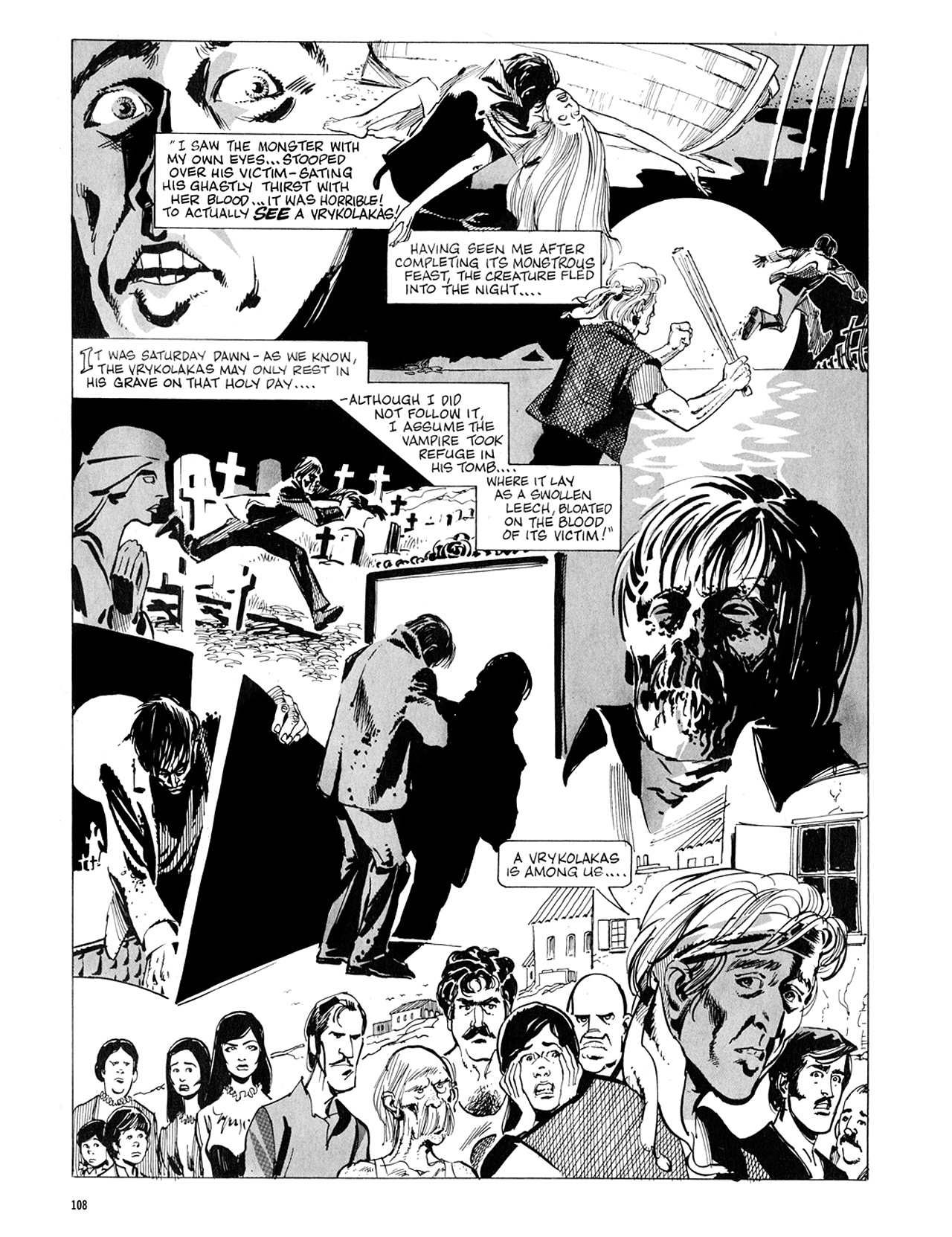 Read online Eerie Archives comic -  Issue # TPB 5 - 109