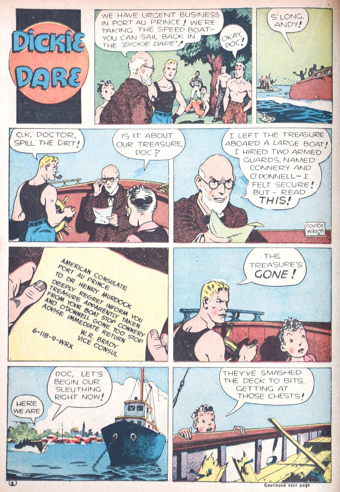 Read online Famous Funnies comic -  Issue #85 - 26