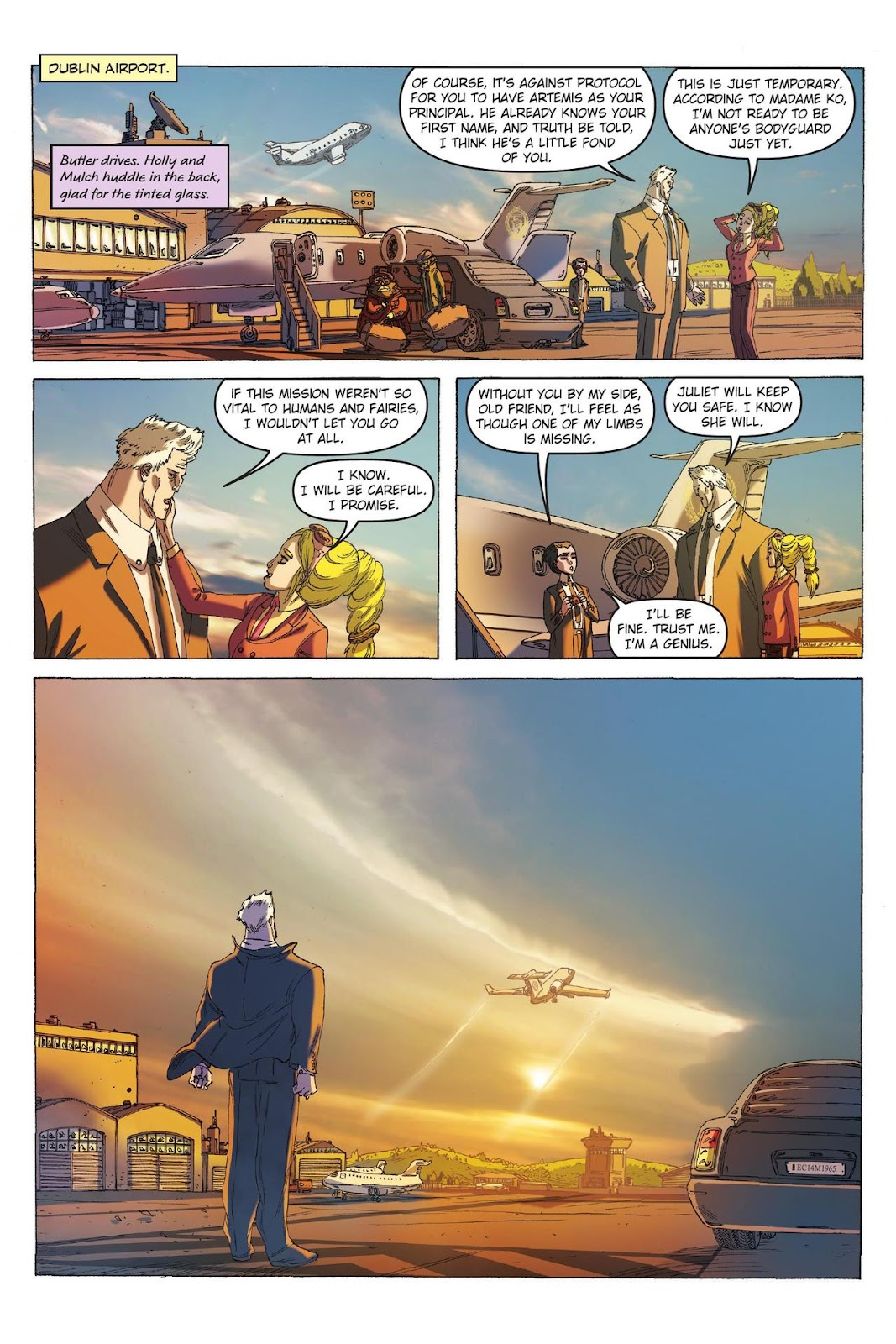 Artemis Fowl: The Eternity Code issue TPB - Page 71