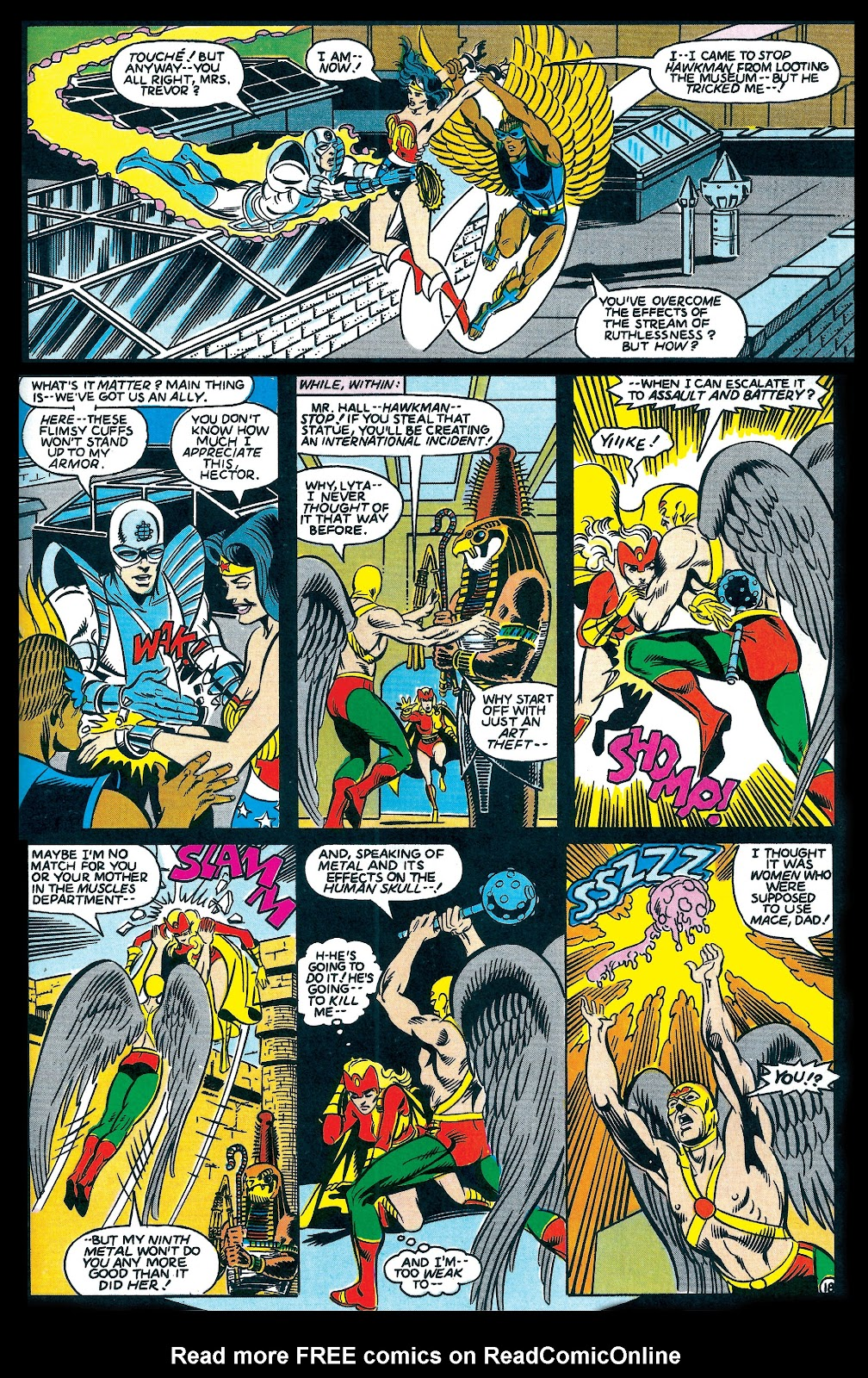 Infinity Inc. (1984) issue 7 - Page 18