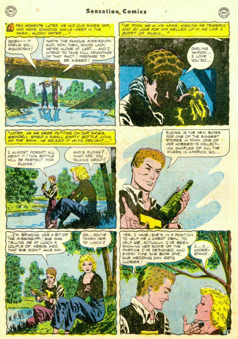 Read online Sensation (Mystery) Comics comic -  Issue #98 - 41
