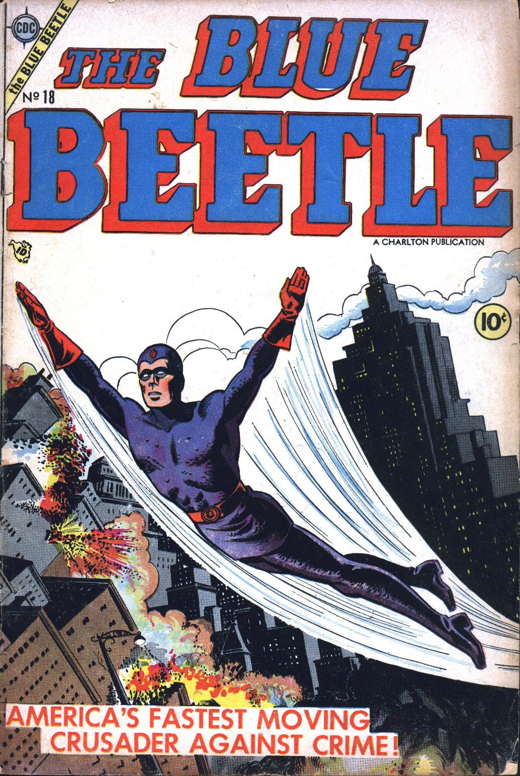 Blue Beetle (1955) issue 18 - Page 1