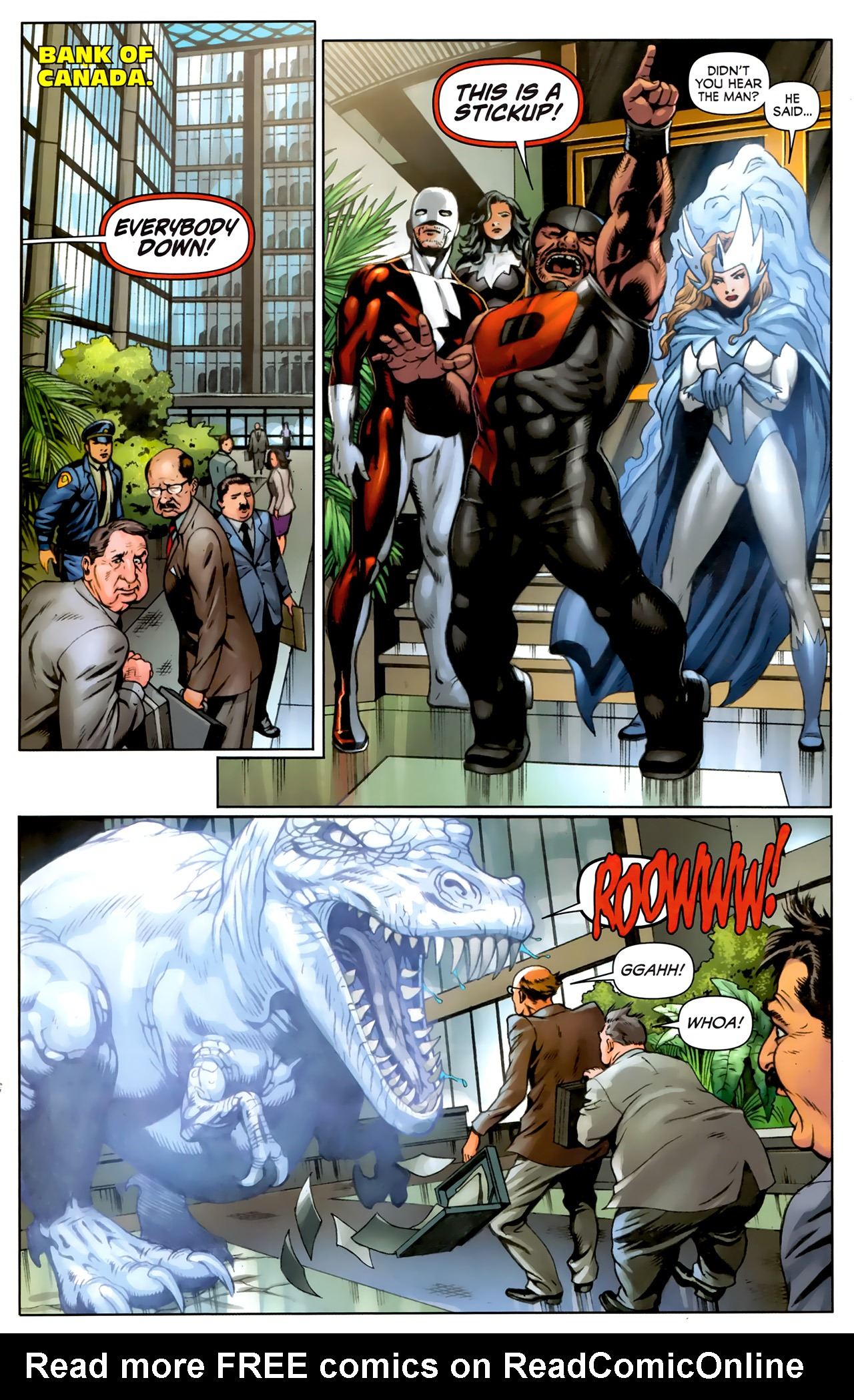 Read online Alpha Flight (2011) comic -  Issue #5 - 9