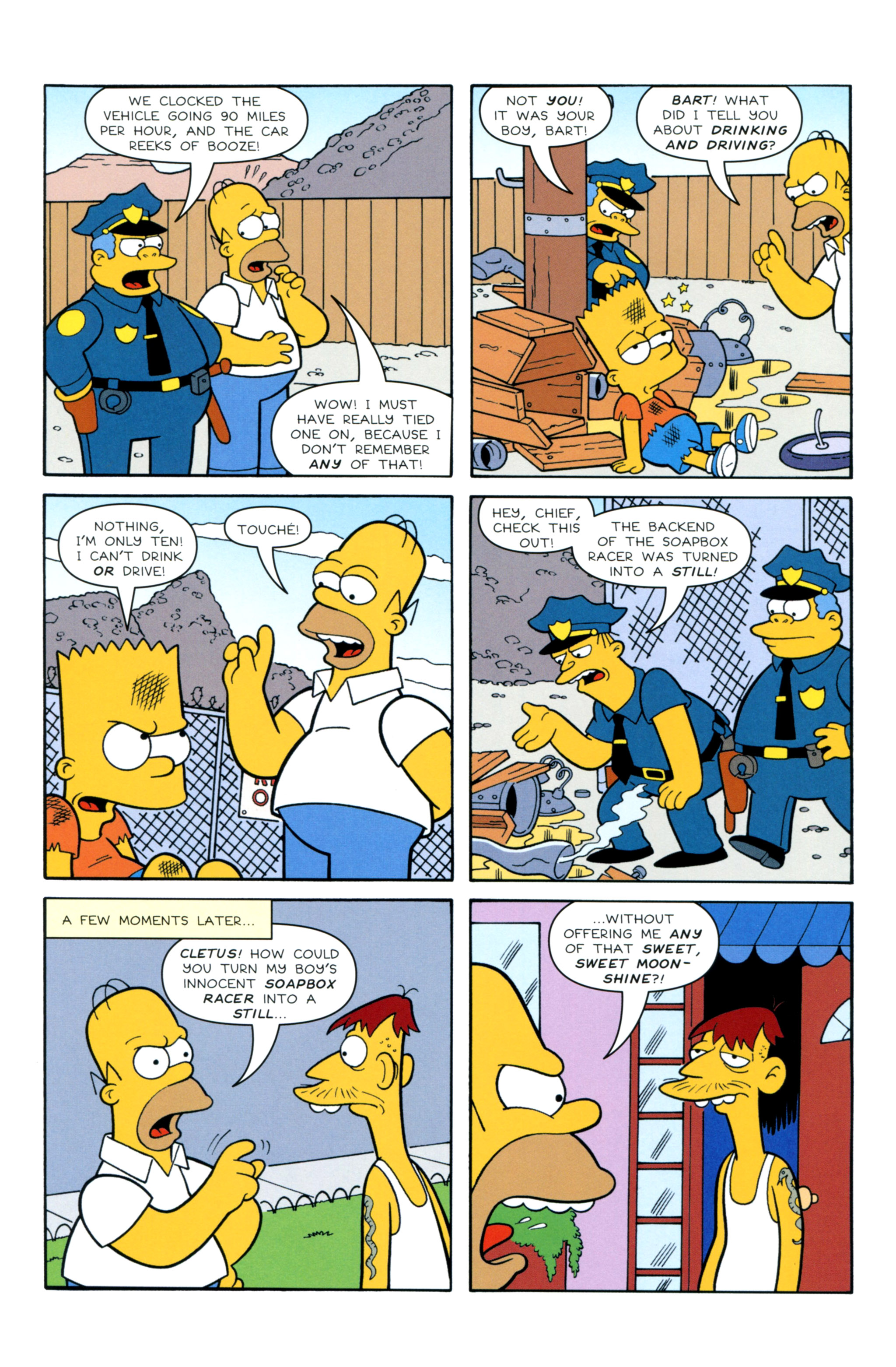 Read online Simpsons Illustrated (2012) comic -  Issue #12 - 14