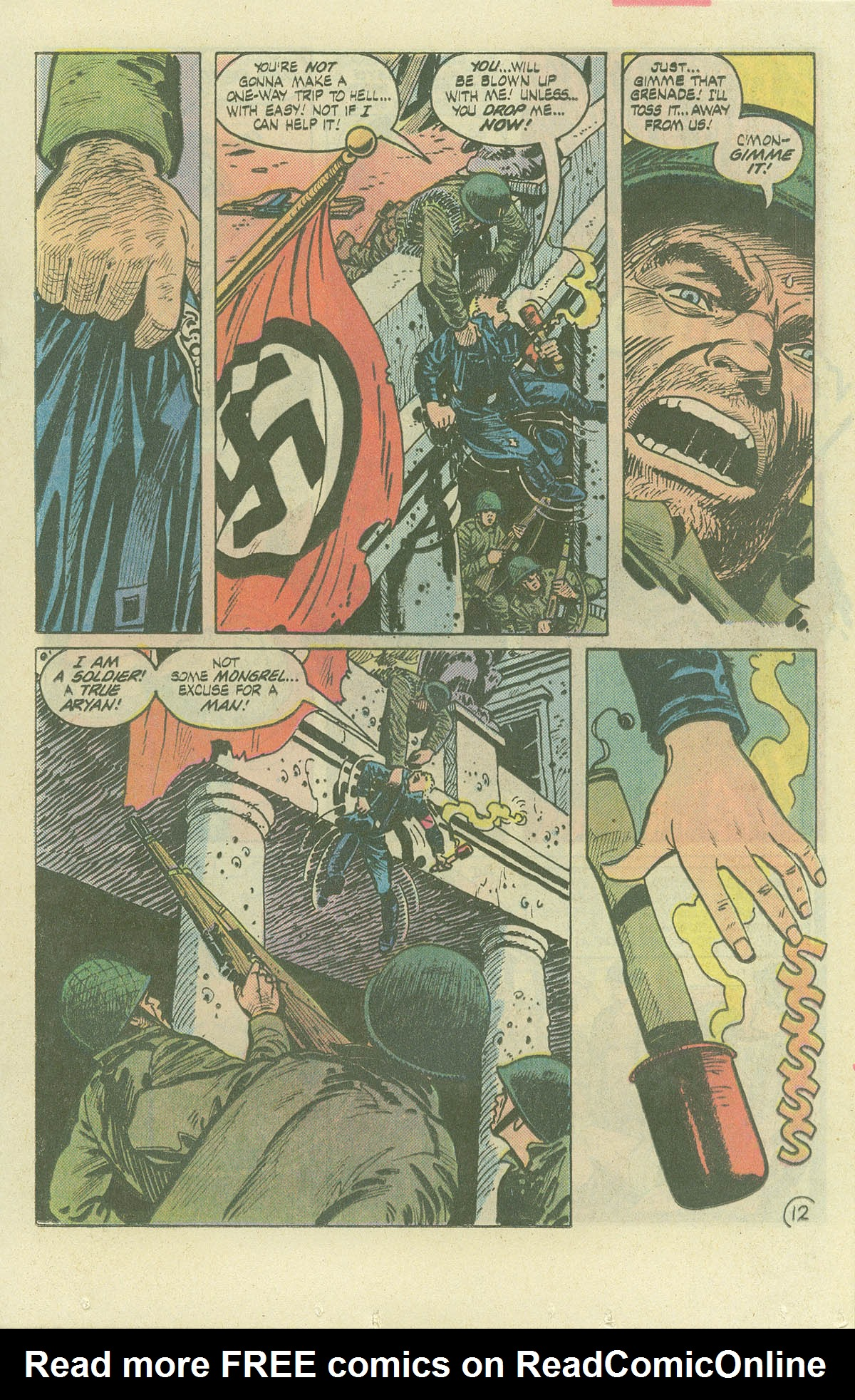 Read online Sgt. Rock comic -  Issue #382 - 16