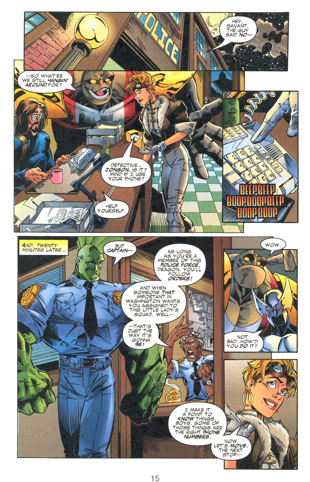 Read online Shattered Image comic -  Issue #2 - 15