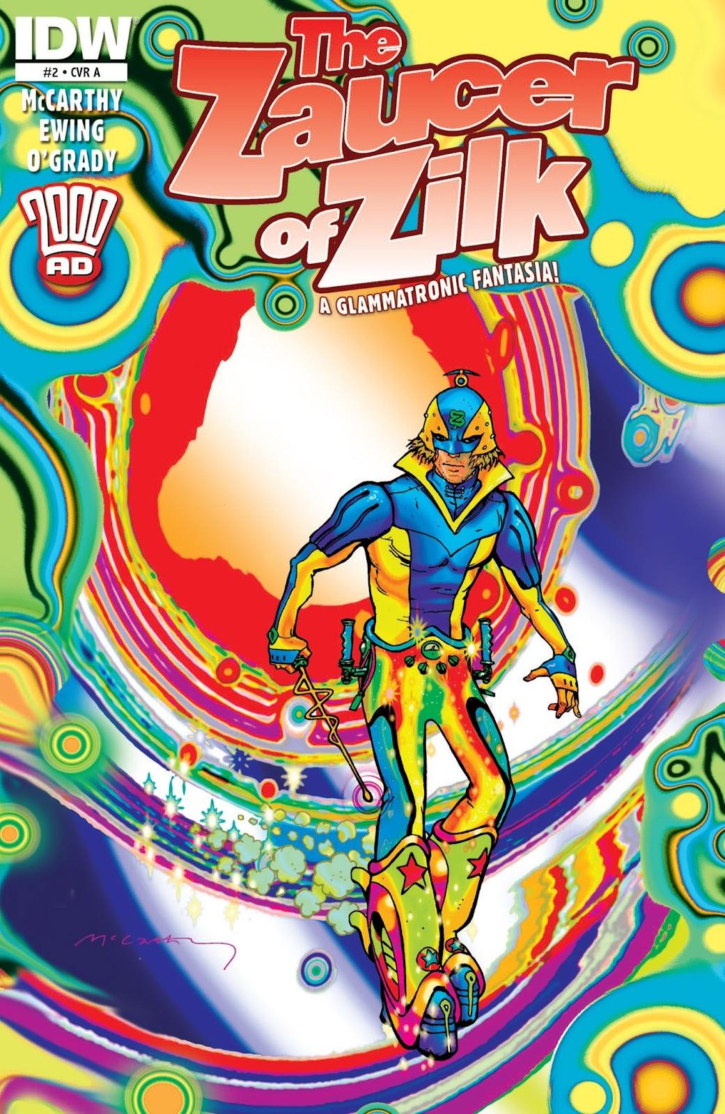 The Zaucer of Zilk 2 Page 1
