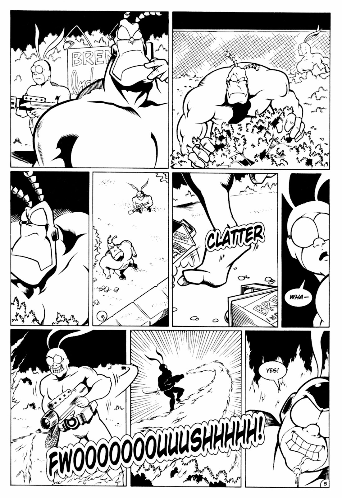 Read online The Tick comic -  Issue #13 - 7