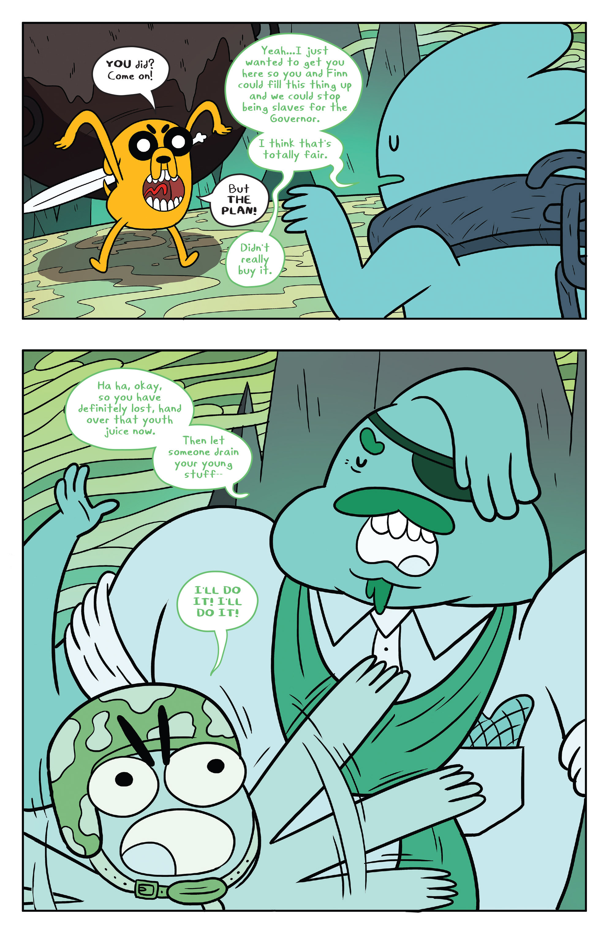 Read online Adventure Time comic -  Issue #53 - 15