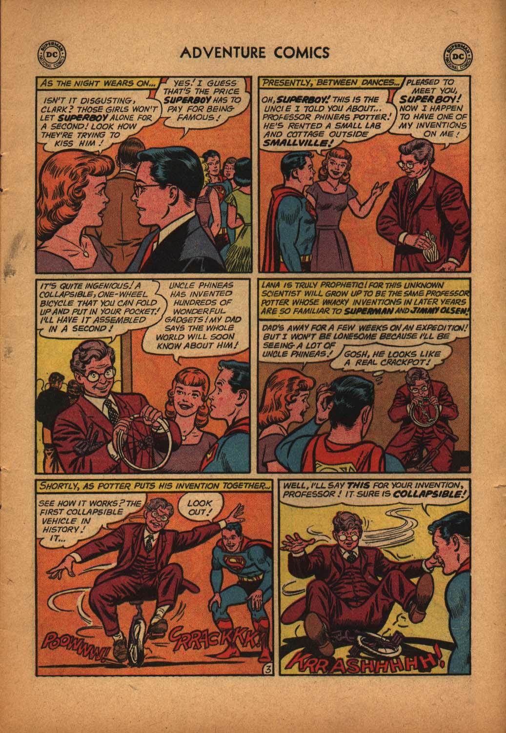 Read online Adventure Comics (1938) comic -  Issue #291 - 5
