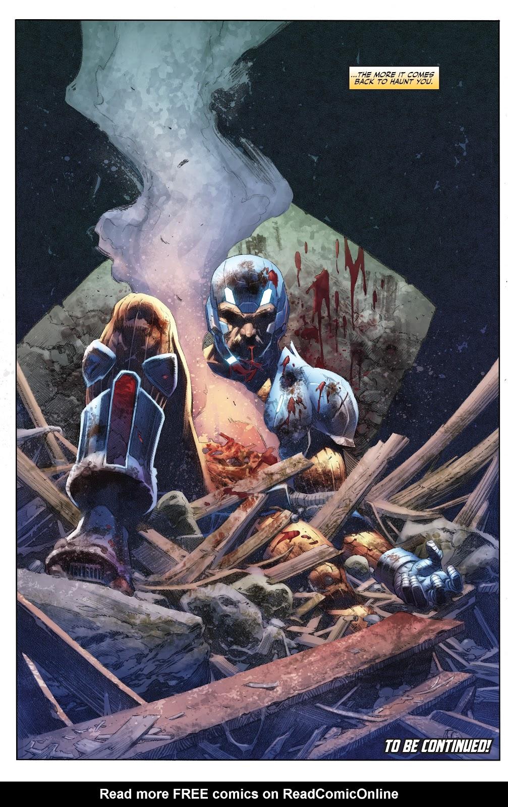 Read online X-O Manowar (2017) comic -  Issue #23 - 22