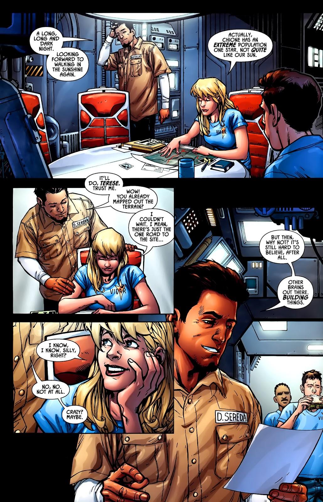 Read online Aliens (2009) comic -  Issue #1 - 10