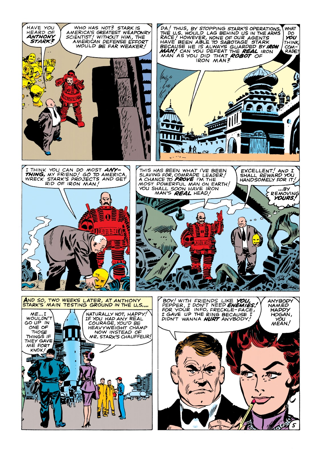 Read online Marvel Masterworks: The Invincible Iron Man comic -  Issue # TPB 1 (Part 2) - 11