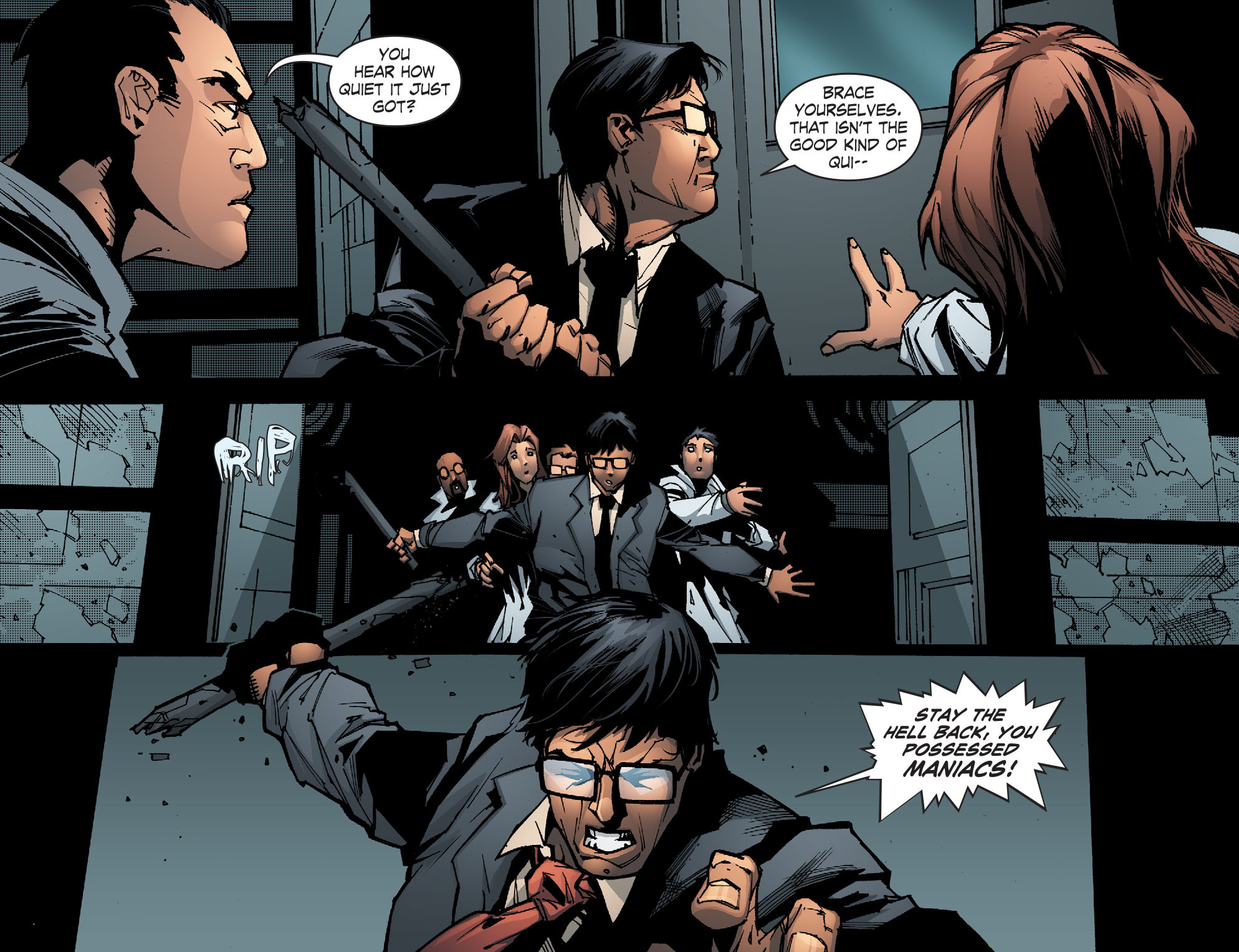 Read online Smallville: Chaos [II] comic -  Issue #5 - 11