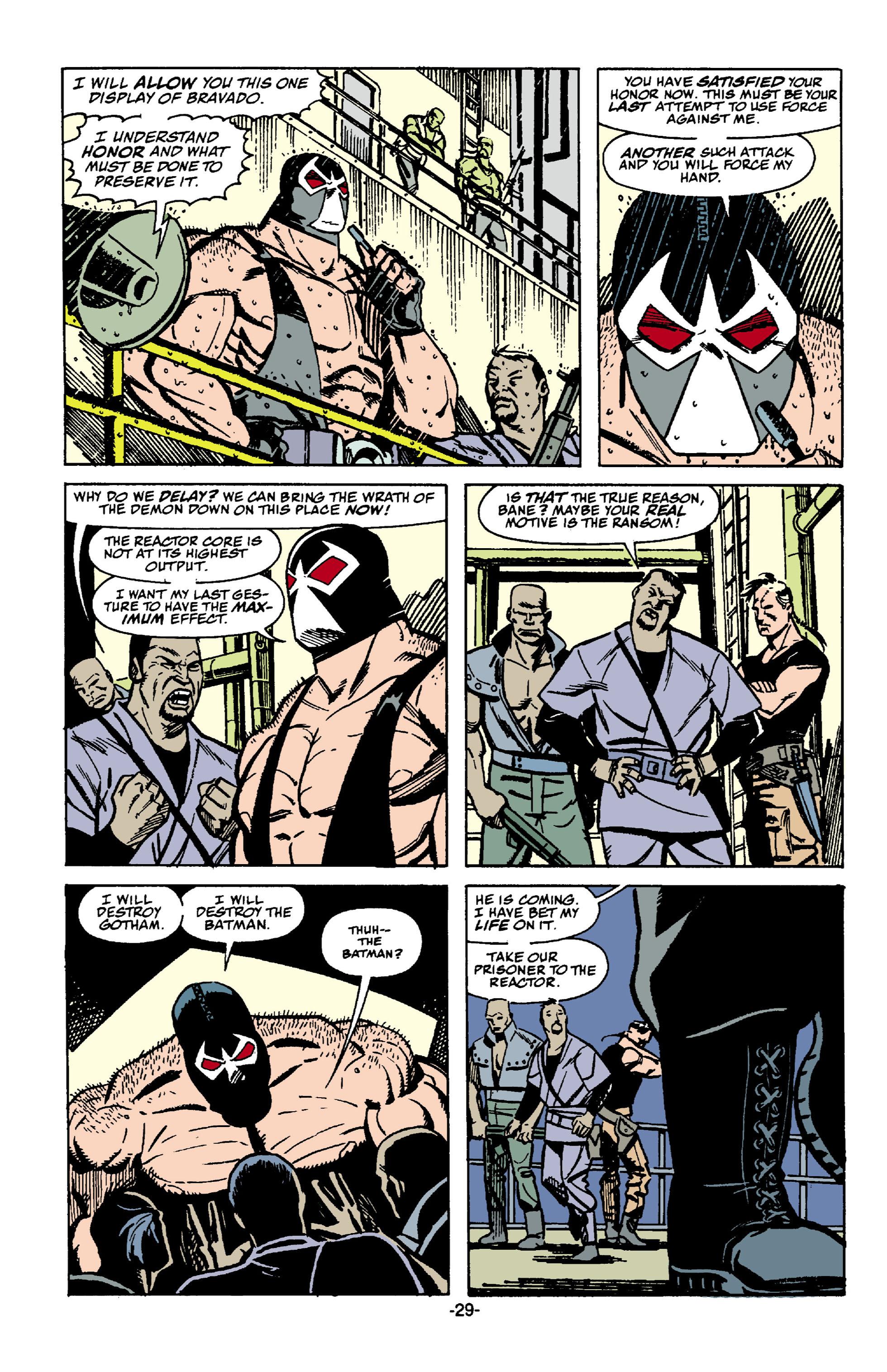 Read online Batman: Bane comic -  Issue # Full - 30